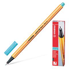 """Ручка капиллярная STABILO """"Point"""", корпус оранжевый, толщина письма 0,4 мм, небесная лазурь"""