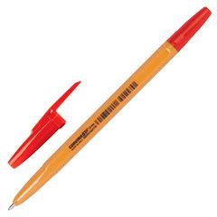 """Ручка шариковая CORVINA (Италия) """"51 Vintage"""", КРАСНАЯ, корпус оранжевый, узел 1 мм, линия письма 0,7 мм, 40163/03G"""