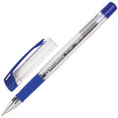 """Ручка шариковая масляная с грипом BRAUBERG """"Active"""", СИНЯЯ, узел 0,7 мм, линия письма 0,35 мм, 142683"""