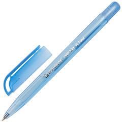 """Ручка шариковая масляная BRAUBERG """"Olive Pen Tone"""", СИНЯЯ, корпус тонированный, пишущий узел 0,7 мм, линия 0,35 мм, 142710"""