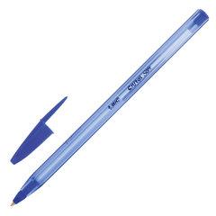 """Ручка шариковая масляная BIC """"Cristal Soft"""", СИНЯЯ, корпус тонированный, узел 1,2 мм, линия 0,35 мм, 951434"""