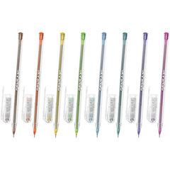 """Ручка шариковая масляная PENSAN """"My-Tech Colored"""", палитра ярких цветов АССОРТИ, 0,7 мм, дисплей"""
