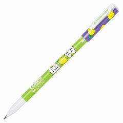 """Ручка шариковая CENTRUM """"Happy Cat. Lemon"""", СИНЯЯ, корпус с печатью, узел 0,7 мм, 83993"""