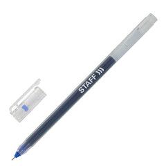 """Ручка гелевая STAFF """"EVERYDAY"""", СИНЯЯ, длина письма 1000 м, игольчатый узел 0,5 мм, линия письма 0,35 мм, 143672"""