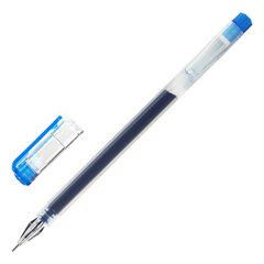 """Ручка гелевая STAFF """"BRILLIANCE"""", СИНЯЯ, длина письма 1000 м, игольчатый узел 0,5 мм, линия письма 0,35 мм, 143674"""