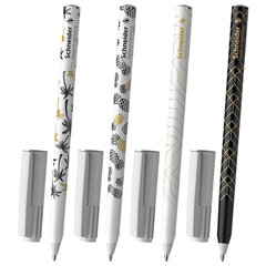 """Ручка шариковая SCHNEIDER (Германия) """"Tops 505 F"""" Tropical, СИНЯЯ, корпус с принтом, узел 0,8 мм, 151500"""