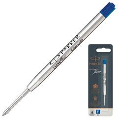 """Стержень шариковый PARKER """"Quinkflow"""", металлический, 98 мм, линия письма 0,5 мм, блистер, синий"""
