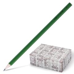 Карандаш чернографитный KOH-I-NOOR, 1 шт., H, без резинки, корпус зеленый, заточенный