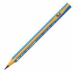 """Карандаш чернографитный утолщенный BIC, 1 шт., """"Kids Evolution"""", HB, трехгранный, корпус синий с желтым, заточенный, 919262"""