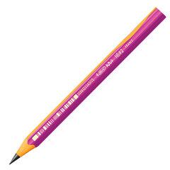 """Карандаш чернографитный утолщенный BIC, 1 шт., """"Kids Evolution"""", HB, трехгранный, корпус розовый с желтым, заточенный, 919263"""