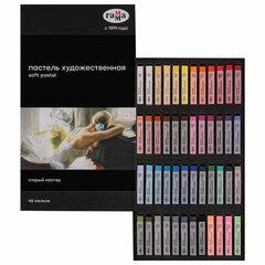 """Пастель сухая художественная ГАММА """"Старый Мастер"""", 48 цветов, базовые цвета, квадратное сечение, 2309198"""