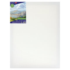 Холст на подрамнике BRAUBERG ART CLASSIC, 30х40 см, 420 г/м2, 45% хлопок 55% лен, среднее зерно, 191656