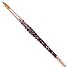 Кисть художественная KOH-I-NOOR колонок, круглая, №12, короткая ручка, блистер, 9935012010BL