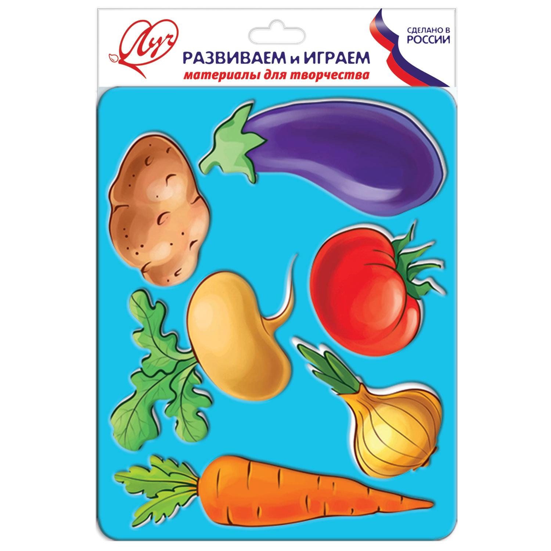 """Трафарет-раскраска ЛУЧ """"Овощи"""", 9C 487-08 – купить по ..."""
