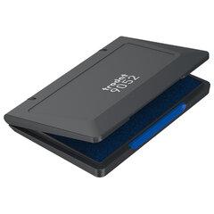 Штемпельная подушка TRODAT, 110x70 мм, синяя краска, 9052c