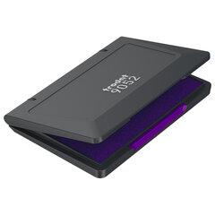 Штемпельная подушка TRODAT, 110x70 мм, фиолетовая краска, 9052ф