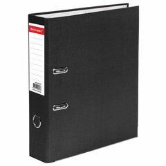 """Папка-регистратор BRAUBERG """"ECO"""", 75 мм, черная, 221395"""