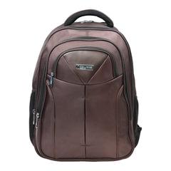 "Рюкзак для школы и офиса BRAUBERG ""Toff"", 32 л, размер 46х35х25 см, ткань, коричневый, 224457"