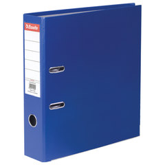 "Папка-регистратор ESSELTE ""Economy"", покрытие пластик, 75 мм, синяя, 11255P"