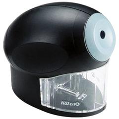 Точилка электрическая KW-trio, питание от сети 220 В, корпус овальный, цвет черный, 30H2