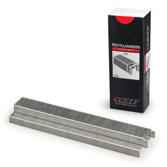 Скобы для степлера LACO (ЛАКО, Германия), №26/6, 5000 штук, цинковое покрытие