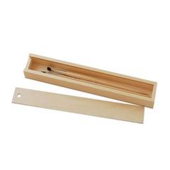 "Пенал для кистей ""Сонет"", деревянный, сосна, 35х5х3 см"