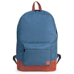 """Рюкзак BRAUBERG, универсальный, сити-формат, синий """"с коричневым дном"""", 18 литров, 33х26х10 см"""