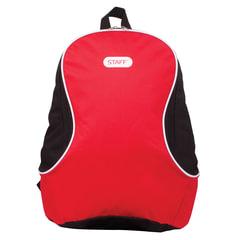 """Рюкзак STAFF """"College FLASH"""", универсальный, красный, 40х30х16 см, 226372"""