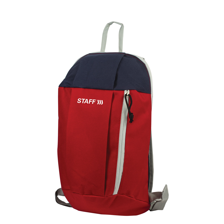 Рюкзак STAFF AIR компактный, красно-синий, 40х23х16 см, 227045