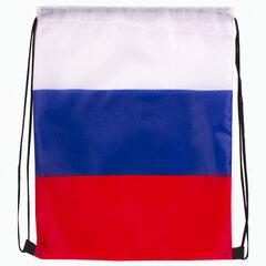 Сумка-мешок на завязках Триколор РФ, без герба, 32 х 42 см, BRAUBERG, 228327