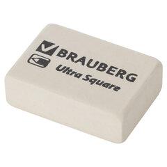 "Ластик BRAUBERG ""Ultra Square"", 26х18х8 мм, белый, натуральный каучук, 228707"
