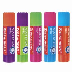 Клей-карандаш BRAUBERG MIX, 9 г, PVP основа, 229071