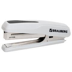 "Степлер №10 BRAUBERG ""Extra"", до 20 листов, антистеплер, серый, 229083"