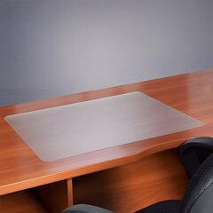 Коврик-подкладка настольный для письма, износостойкий, FLOORTEX, 48х61 см, толщина 0,9 мм, прозрачный