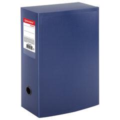 "Короб архивный (330х245 мм), 100 мм, пластик, разборный, до 900 листов, синий, 0,9 мм, BRAUBERG ""Energy"", 235375"