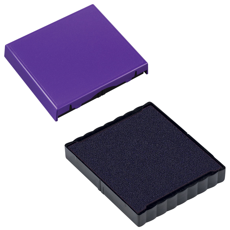 Подушка сменная 40х40 мм, фиолетовая, для TRODAT 4940, 4924, 4724, 4740, арт. 6/4924