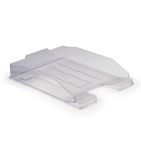 Лоток для бумаг СТАММ ЛЮКС горизонтальный тонированный /Слива/ ЛТ612