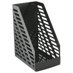 """Лоток вертикальный для бумаг, увеличенная ширина (250х160х300 мм), СТАММ """"XXL"""", черный, ЛТ901"""