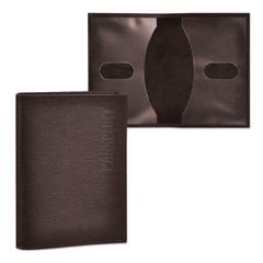 """Обложка для паспорта BEFLER """"Грейд"""", натуральная кожа, тиснение """"Passport"""", коричневая"""