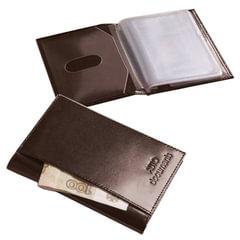 """Бумажник водителя BEFLER """"Classic"""", натуральная кожа, тиснение, 6 пластиковых карманов, коричневый"""