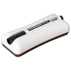 Стиратель магнитный для магнитно-маркерной доски (62х150 мм) + черный маркер, 2х3 Duo
