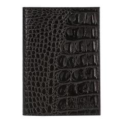 """Бумажник водителя BEFLER """"Кайман"""", натуральная кожа, тиснение, 6 пластиковых карманов, черный"""
