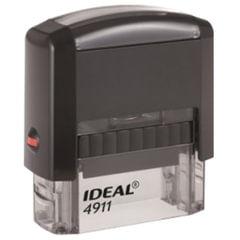 Оснастка для штампа, размер оттиска 38х14 мм синий, TRODAT IDEAL 4911 P2, подушка в комплекте