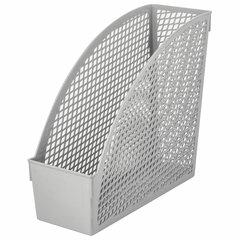 """Лоток вертикальный для бумаг STAFF """"Profit"""", 270х100х250 мм, сетчатый, полипропилен, серый, 237252"""