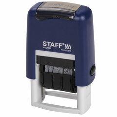 "Датер-мини STAFF, месяц буквами, оттиск 22х4 мм, ""Printer 7810"", 237432"