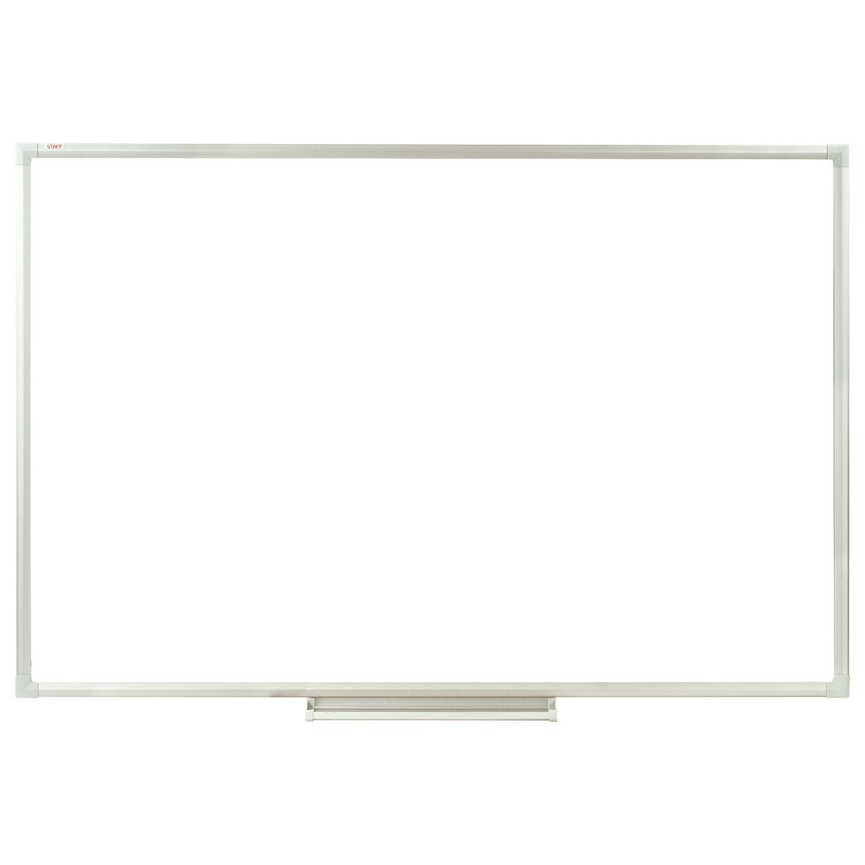 Доска магнитно-маркерная 90х120 см, алюминиевая рамка, Польша, STAFF Profit, 237722