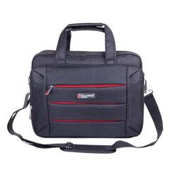 """Сумка деловая для офиса и учебы BRAUBERG """"Flagman"""", отделение для планшета и ноутбука 15,6, 32х41х10см, ткань"""