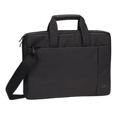 """Сумка деловая RIVACASE, 39х29х7 см, отделение для планшета и ноутбука 15,6"""", ткань, черная"""