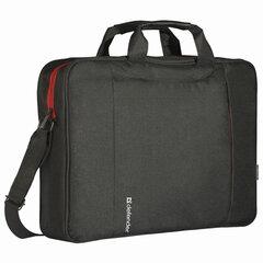 """Сумка для ноутбука DEFENDER GEEK 15,6"""", полиэстер, черная с карманом, 26084"""