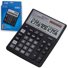 Калькулятор настольный CITIZEN SDC-435N (204х158 мм), 16 разрядов, двойное питание
